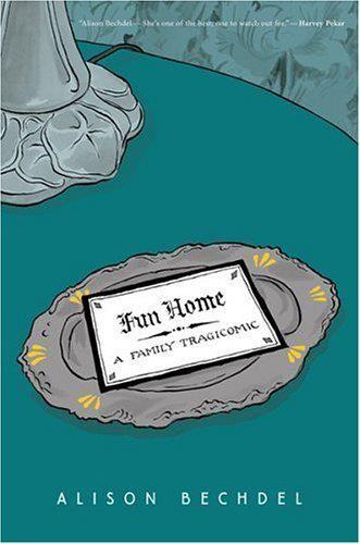 """""""Fun home"""" Alison Bechdel  Informació de l'obra: http://trazosenelbloc.blogspot.com.es/2008/04/fun-home-una-familia-tragicmica-de.html"""