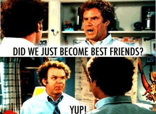 Image result for co-worker becoming friends memes