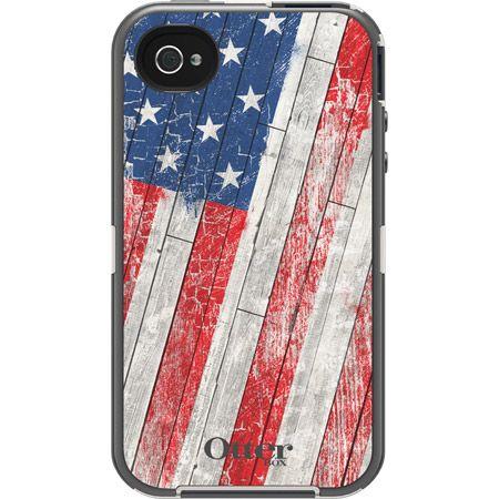 Patriotic USA iPhone 4 & 4S Case - Defender Series | OtterBox.com | $59.95
