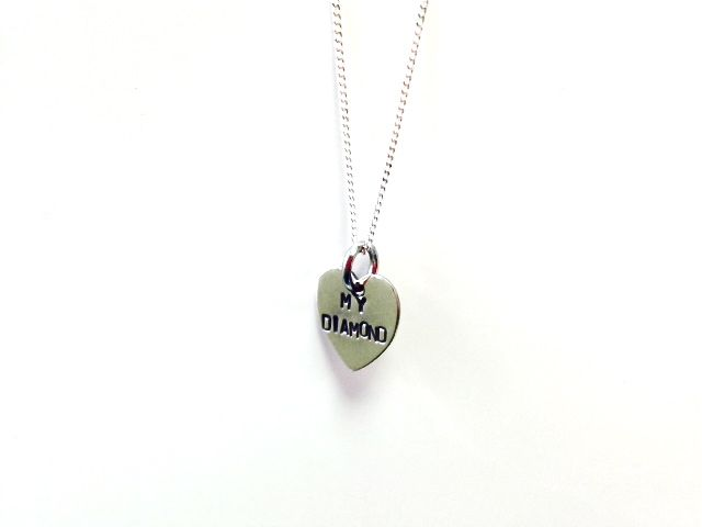 My diamond heart necklace - see the full livto collection at www.livto.co.uk