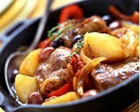 Tajine d'agneau aux pommes de terre