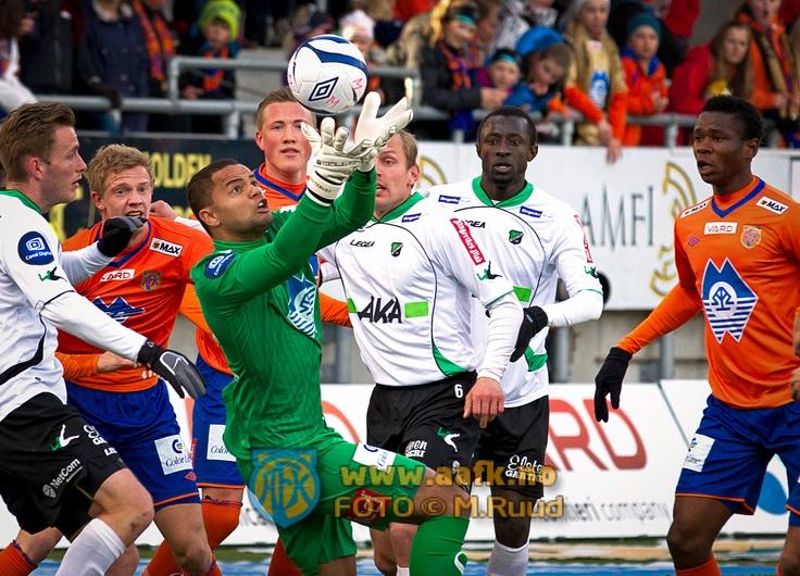 Goalkeeper Sten Grytebust at AaFK, Norway. National A- team player