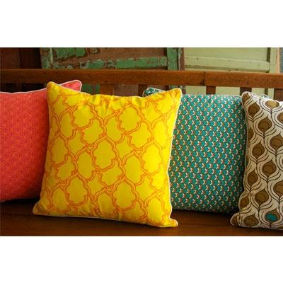 Bright cushions!