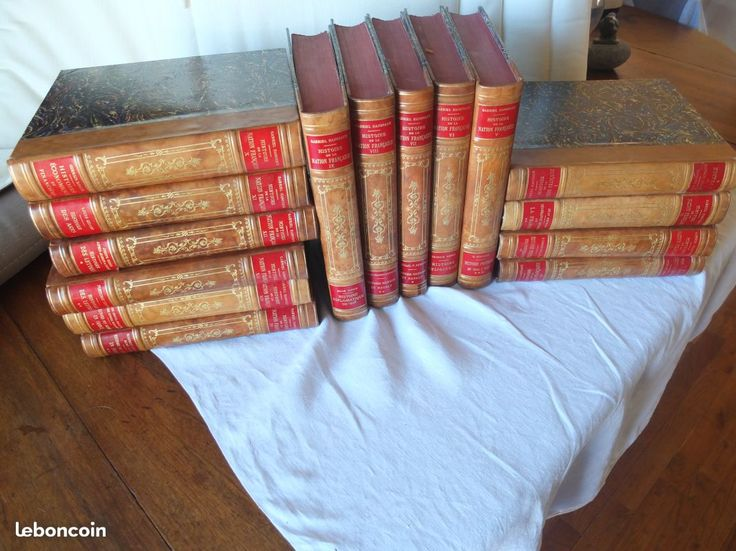??? Livres anciens reliés histoire civilisation franç