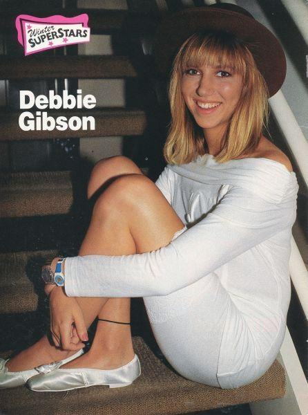 Debbie Gibson. Gosh, I used to love her!
