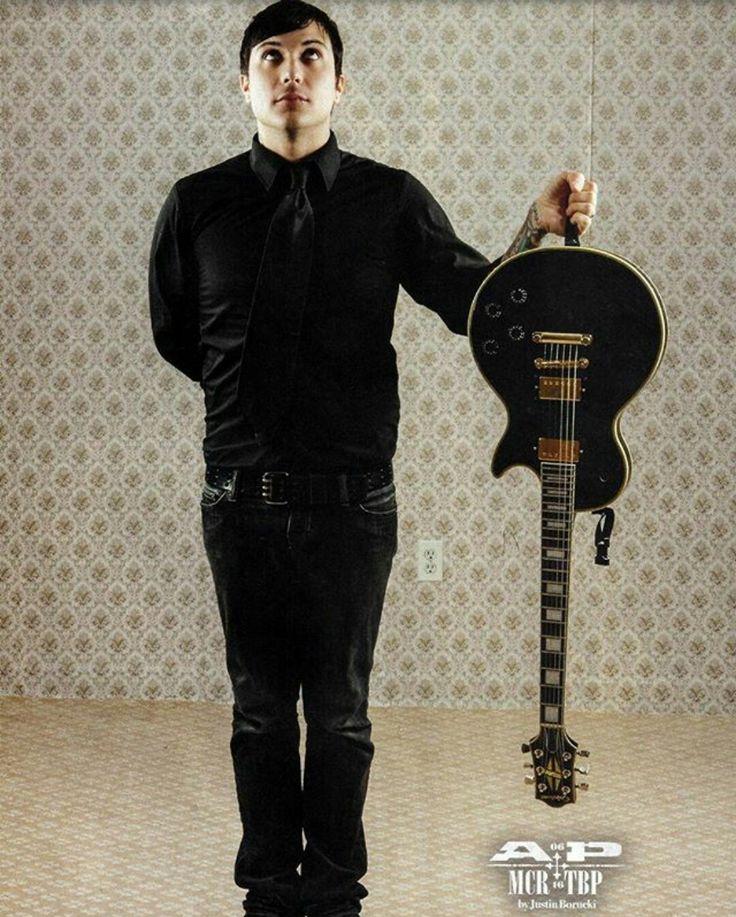 TBP Frank & his guitar in AP Magazine