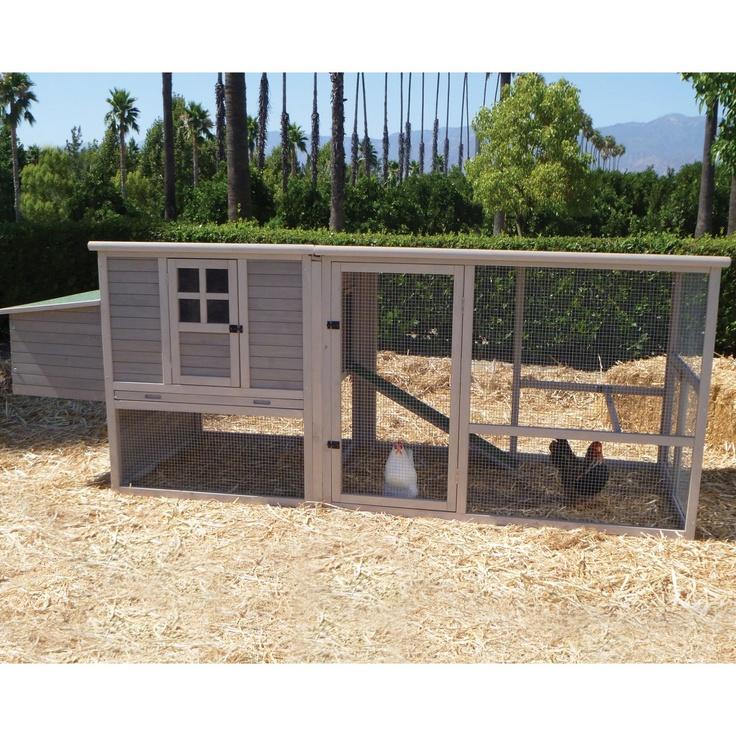 Extreme hen house coop gallineros pinterest casas para gallinas gallineros y gallinas - Casas para gallinas ...