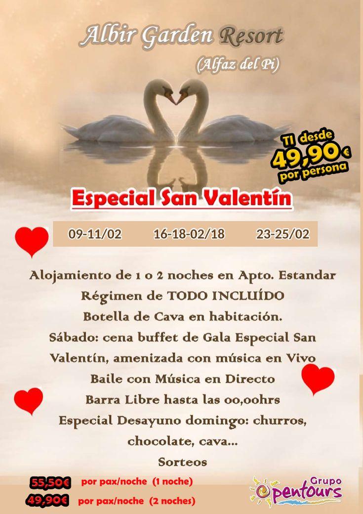 Complejo Albir Garden Resort (Playa de El Albir, Alfaz del Pi, Alicante, Costa Blanca, España) ---- Especial SAN VALENTIN 2018 ---- Desde 49,90 € 2 noches, desde 55,50 € 1 noche (por persona y noche) ---- Resto condiciones de esta oferta en www.opentours.es ---- Información y Reservas en tu - Agencia de Viajes Minorista - ---- #albirgardenresort #complejoalbirgarden #albirgarden #elalbir #alfazdelpi #alicante #costablanca #SANVALENTIN2018 #escapadas #hoteles #vacaciones #estancias #ofertas…
