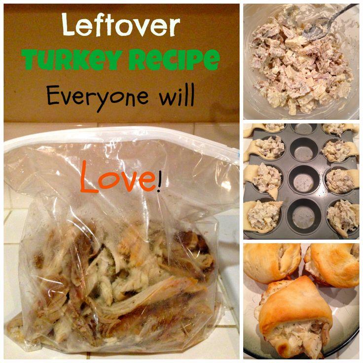Leftover Turkey Recipe Everyone will LOVE! ~ EASY & YUMMY