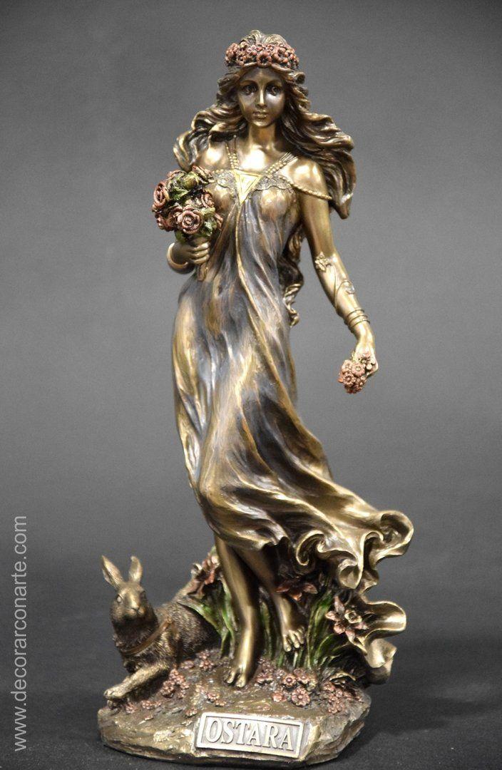 Ostara Diosa De La Primavera 26cm Figuritas De Hadas Diosa De La Fortuna Diosa De La Fertilidad