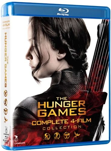 29,95€. The Hunger Games Complete Collection (Blu-ray)