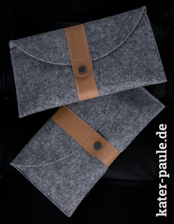Filztaschen mit SnapPap | DIY | Nähen | Bastelfilz