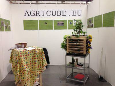 Agricube färdiga booth at Nordic Gardens