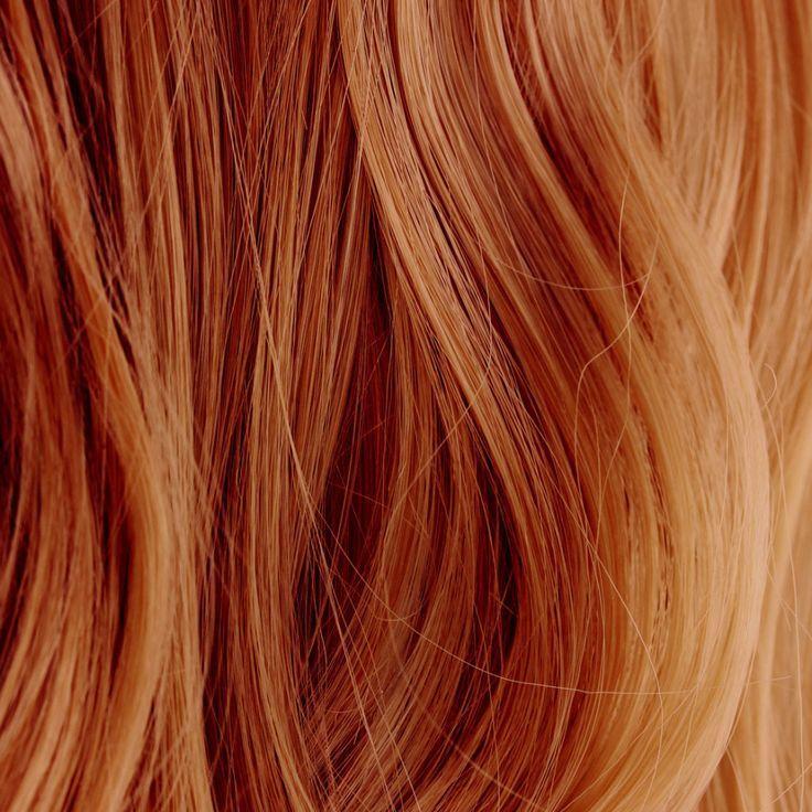 Blondieren gefärbte henna mit rot haare Haare färben