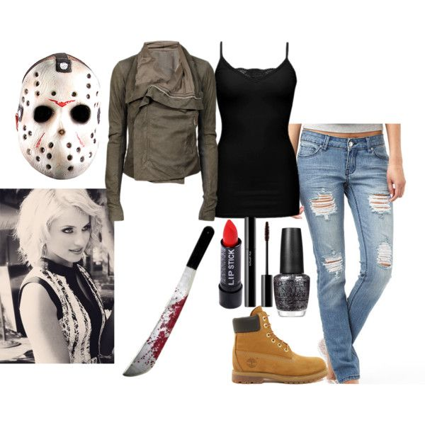 Jason Voorhees Costume, created by iloveclothesandfashion on Polyvore