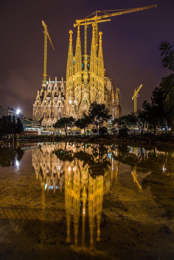 Double Vision by Dan Borg - La Dreta De L'eixample, Barcelona, Catalonia - Sagrada Familia Basilica