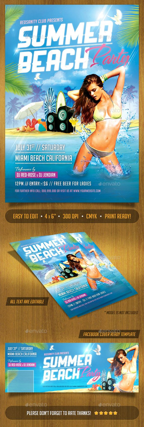 party flyers printing