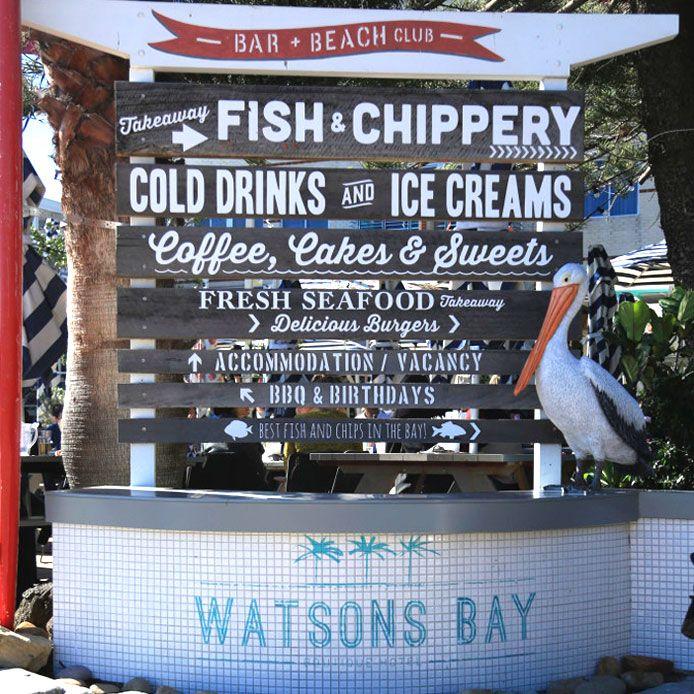 seafood at doyles, Watson bay