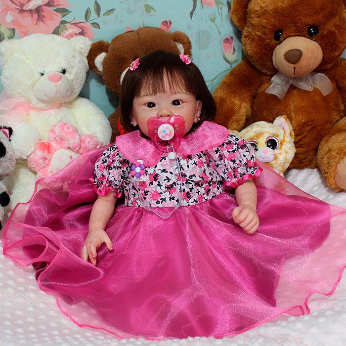boneca que se pare se  com bebe de verdade
