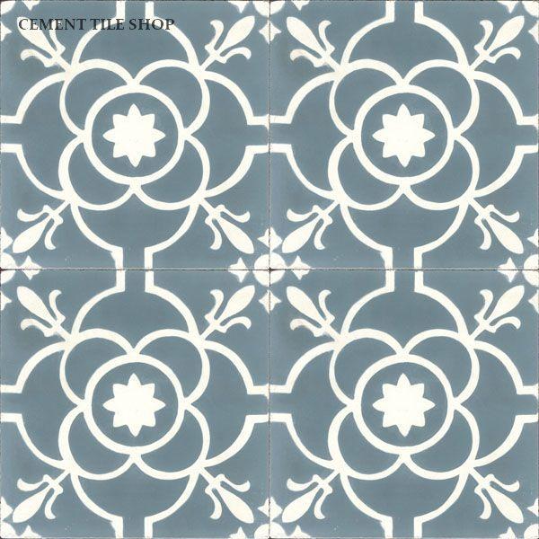 Cement Tile Shop - Handmade Cement Tile | Paris Blue…