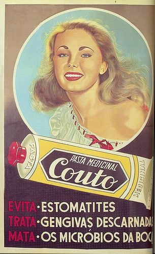 Pasta Medicinal Couto, 1950s by Gatochy, via Flickr