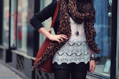: Lace Tops, Leopards Prints Scarfs, Shirts, Cheetahs Scarfs, Big Scarves, Leopards Scarfs, White Lace, Animal Prints, Crochet Tops