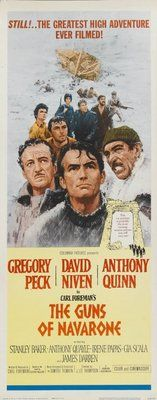 The Guns of Navarone (1961) with Gregory Peck, David Niven