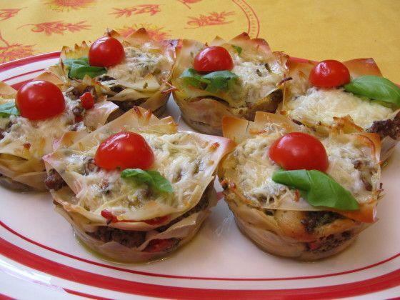 Lasagna Cupcakes Recipe - Food.com