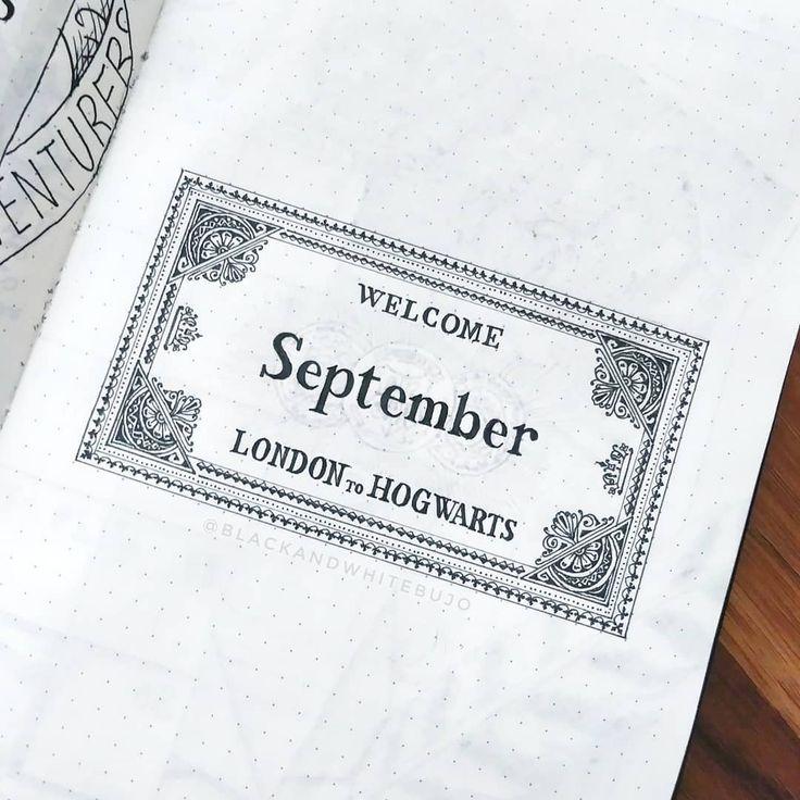 """Ich weiß, es ist früh für einen """"Welcome September"""" -Post, aber ich bin einfach so aufgeregt für das Thema des nächsten Monats !! ⚡ Und wenn jemand ein Ersatzticket für … hat"""