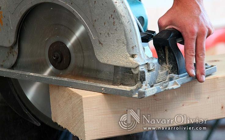 www.navarrolivier.com  #cierra #circular #corte #madera #navarrolivier #makita