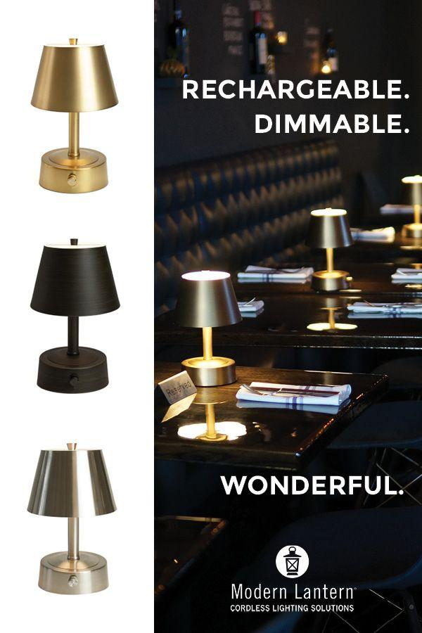 Luxury Cordless Mini Lamps For Restaurant Design Cordless Lamps Cordless Table Lamps Lamp