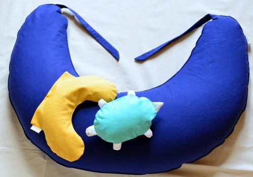 Cuscino Allattamento Senza Federa   Cuscino Cervicale Baby   Pupazzo Tartaruga con Pula di Farro Bio