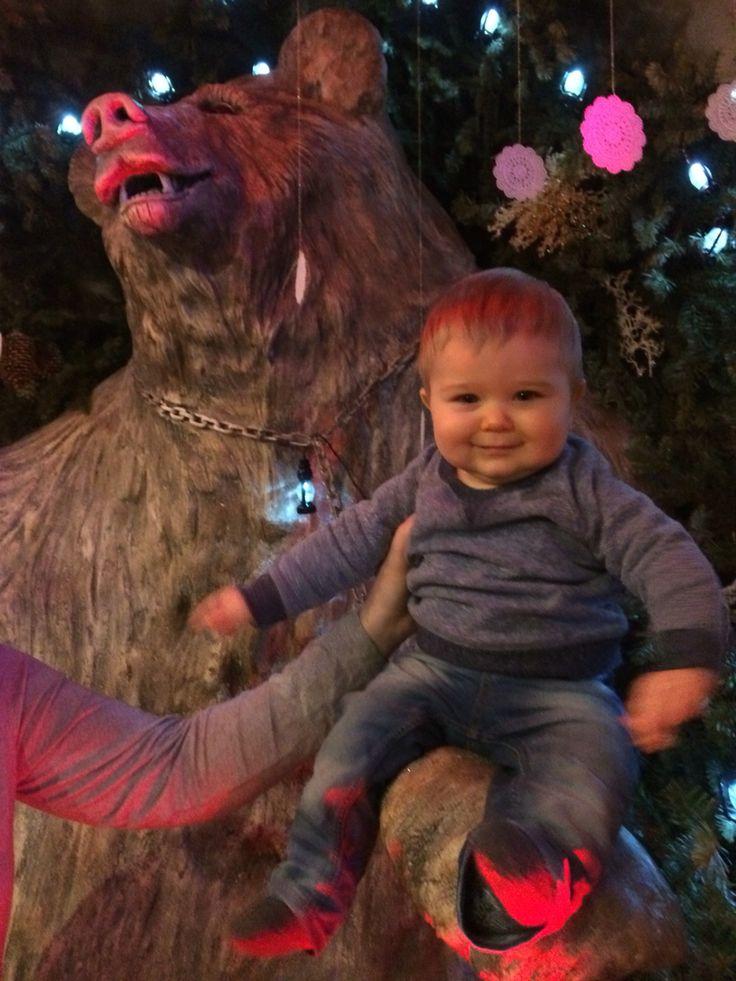 Nasz misiaczek bardzo lubi dzieci :)