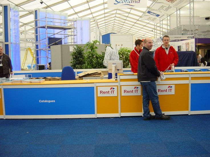 Registration area at Offshore Europe 2003. #OffshoreEurope #OilandGas #AECC #Aberdeen