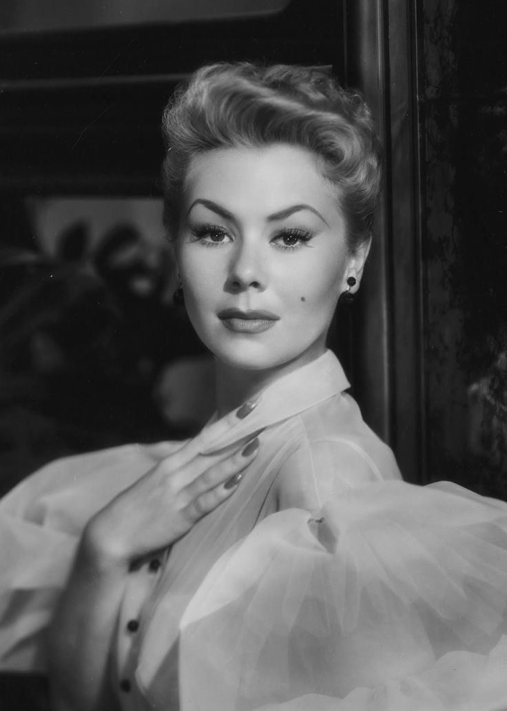 """I saw her in """"There's No Business Like Show Business"""" and I thought Mitzi Gaynor was just so pretty"""