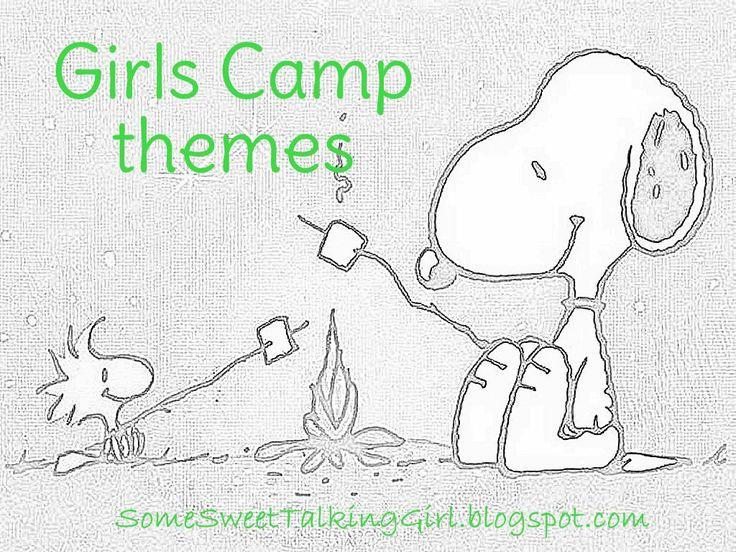 Girls Camp Themes