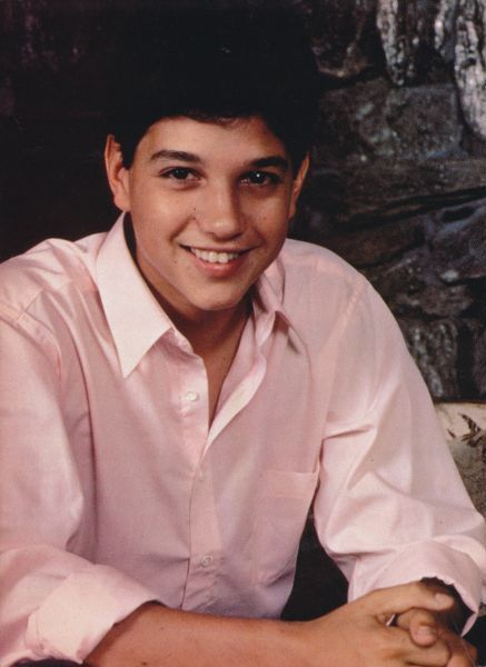 Ralph Macchio aka Johnny Cade aka The Karate Kid :)