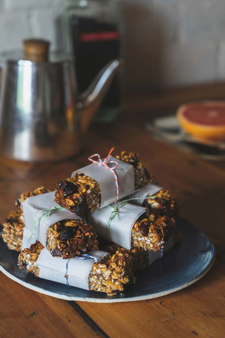 These beauties are full of the good stuff, take 20 mins to bake and last a week in the fridge. That's the lunchbox treat for next week sorted. Makes 12 muesli bars.