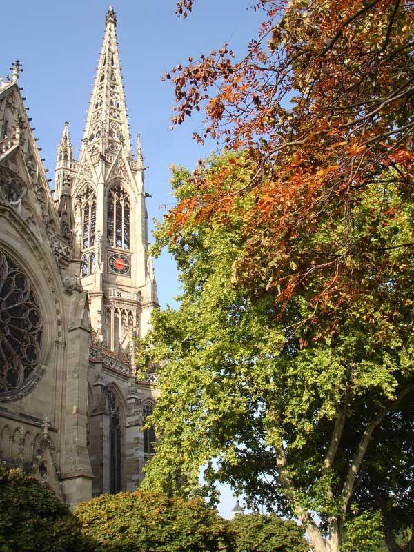 Famous Protestant Church - Speyer, Germany. Rheinland-Pfalz Copyright: Aurangzeb Khan