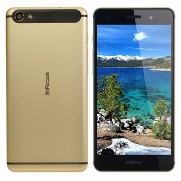 Only US$103.79, buy best InFocus M560 5.2-inch FHD 2GB RAM 16GB ROM Metal MT6753 Octa-core 4G Smartphone sale online store at wholesale price.US/EU warehouse.