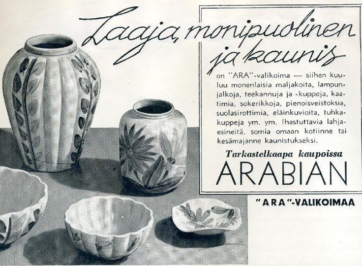 #Suomi #Finland #design #posliini #astiat #ARA