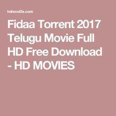 Fidaa Torrent 2017 Telugu Movie Full HD Free Download - HD MOVIES