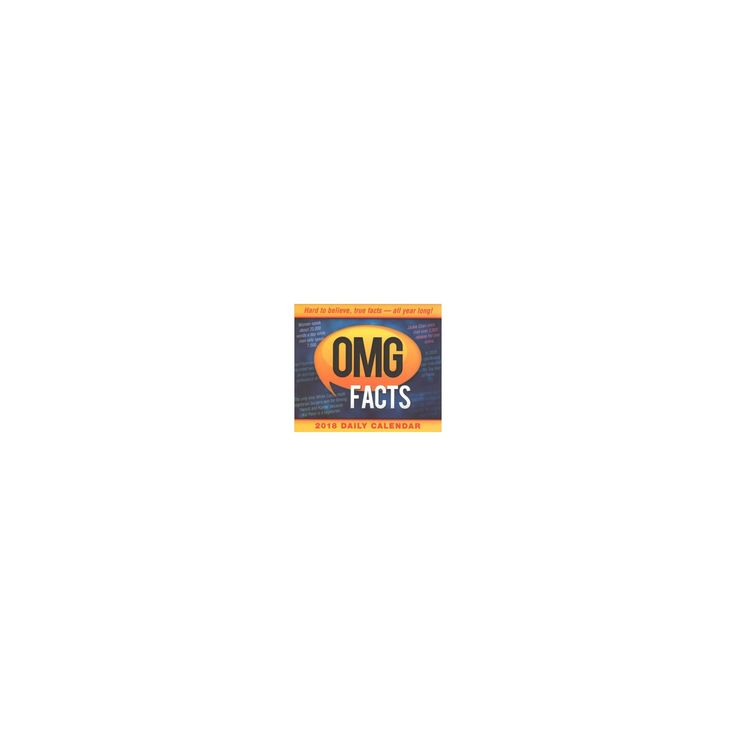 Omg Facts Daily 2018 Calendar (Paperback)