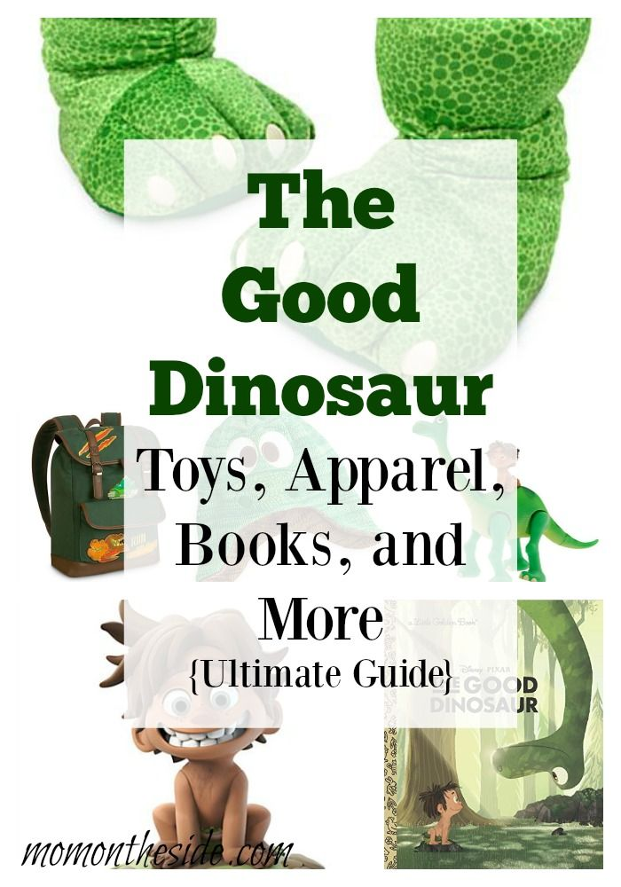Ultimate Guide to The Good Dinosaur Toys, Apparel, Books, and More that are already hitting shelves. The Good Dinosaur hits theaters on November 25th!