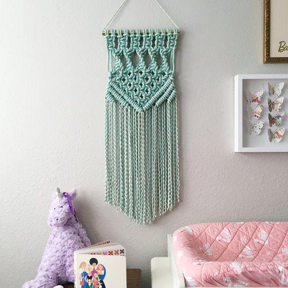 Macrame Patterns/Macrame Pattern/ Macrame Wall Hanging Pattern/Wall Hanging/Modern Macrame/Pattern/DIY/Name: Square Twist Chevron Pattern