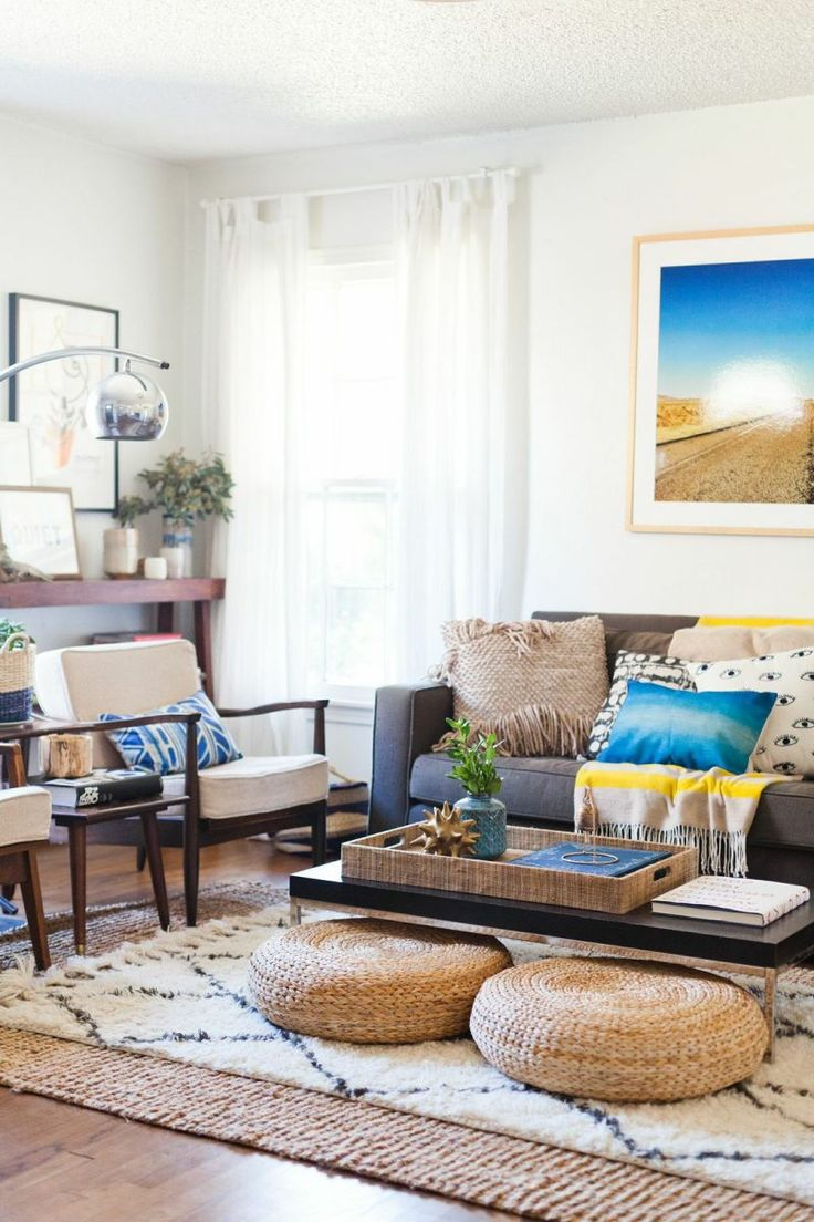 9 best rug on carpet living room images on Pinterest | Apartments ...