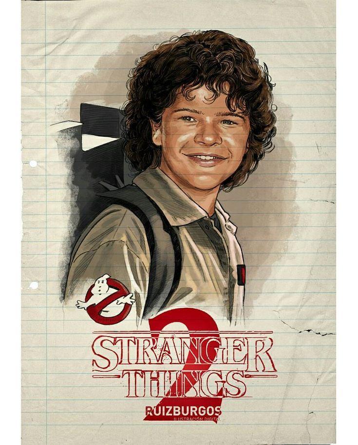 Dustin - Stranger Things 2 by Ruiz Burgos @ruizburgos