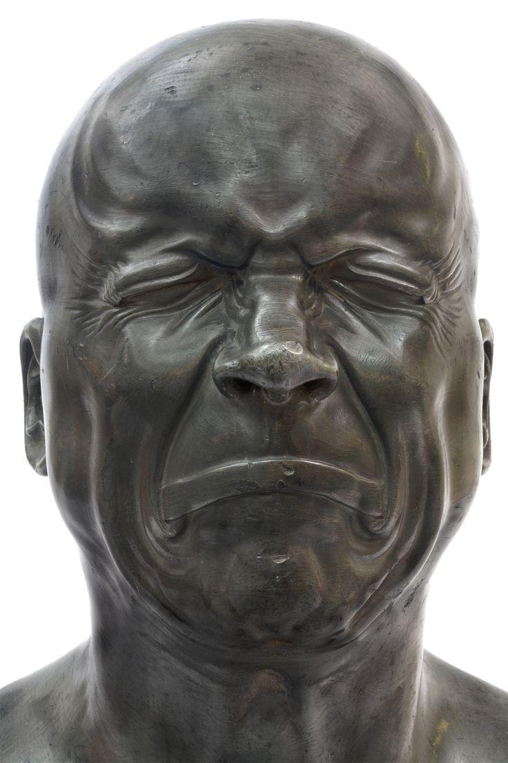 Ill-Humored Man – 1771-1783 (Department of Sculptures, Musée du Louvre, Paris)
