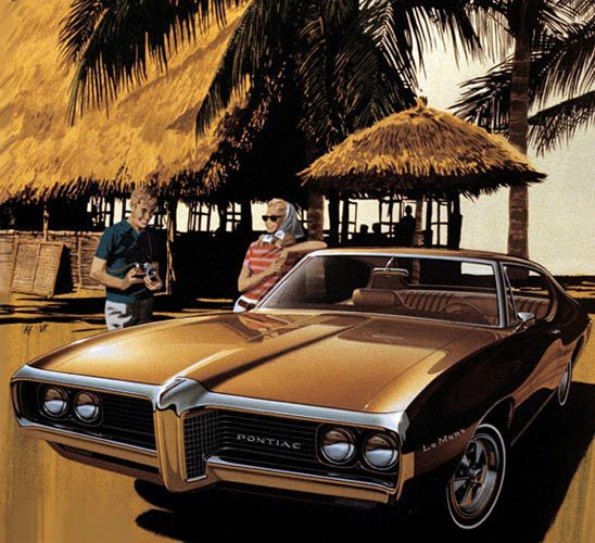 1969 Pontiac LeMans Hardtop Coupe - 'Puerto Vallarta': Art Fitzpatrick and Van Kaufman