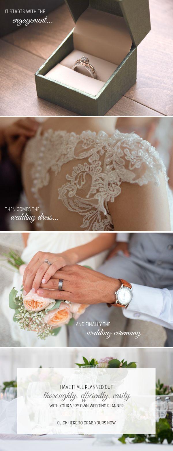 Wedding Planner Printable | PDF Instant Download | Wedding Planning Book | Wedding Binder ...